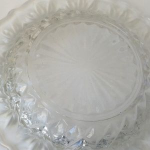 Vintage Dining - Vintage Crystal Butter Dish/Jewelry Dish